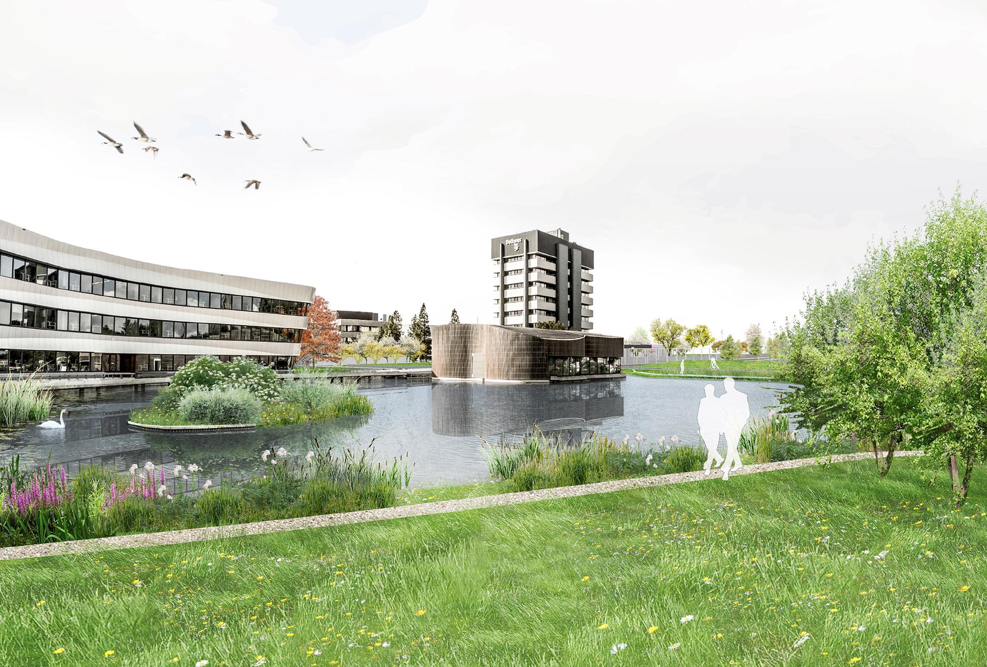 Waterbestendige Campus - Deltares, Delft.