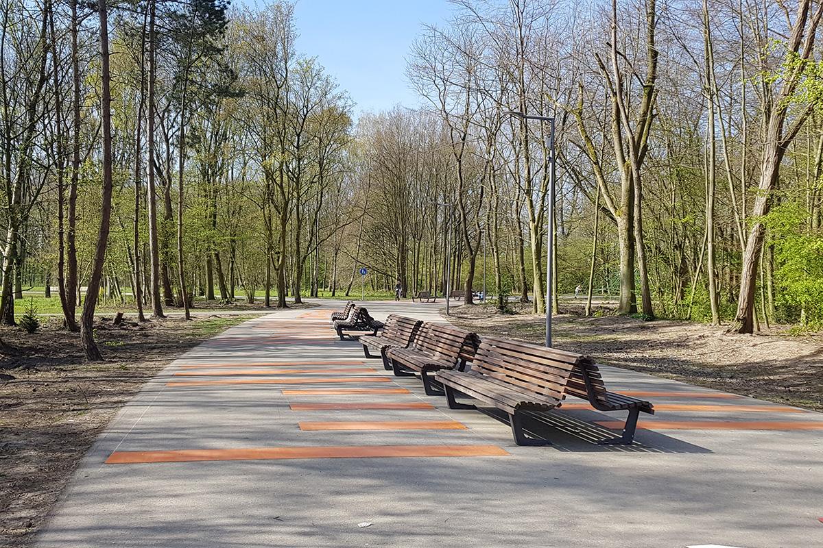 Stadionpark, Park de Twee Heuvels en Eiland van Brienenoord