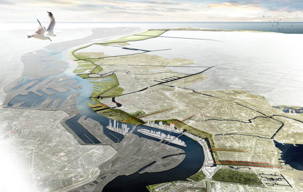 Het Dijkplateau, Regio Rotterdam Rijnmond