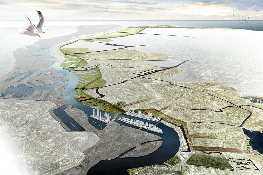 Het Dijkplateau, deltalandschap tussen stad en rivier