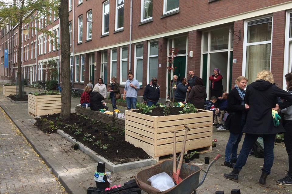 Stichting Tussentuin, Rotterdam